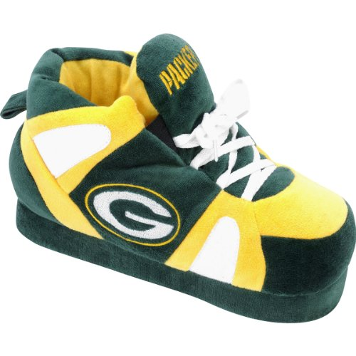 Forever Collectibles NFL Green Bay Packers Slippers Sm- Under 5.5