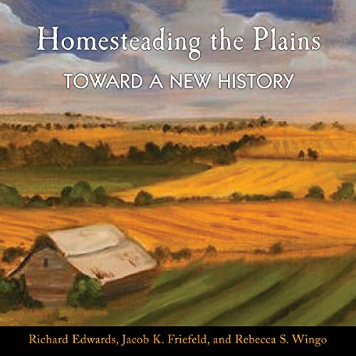 Homesteading the Plains audiobook cover art