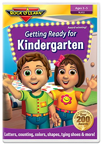 Getting Ready for Kindergarten DVD by Rock 'N Learn
