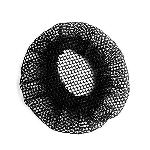 rongweiwang 10 PCS Invisible Chignon moustiquaire Bord élastique Noir Maille Filet à Cheveux Accessoires de Cheveux, garçons et Filles Adultes