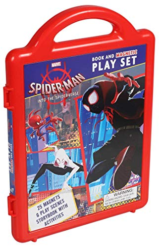Marvel Spider-man - into the Spider-verse Magnetic Playset