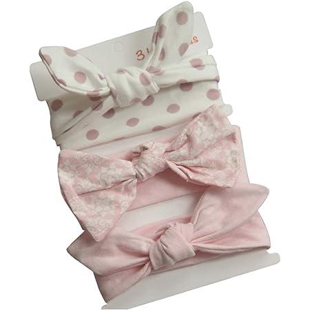 COUXILY Diadema de Turbante Algodón Anudado Cabeza Envolturas del Bebé Cabezal de estiramiento para niñas bebé niño