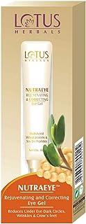 Lotus Herbals Nutraeye Rejuvenating And Correcting Eye Gel, 10g