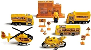 Play Machine Construção Obras Indicado para +3 Anos Amarelo Multikids - BR972