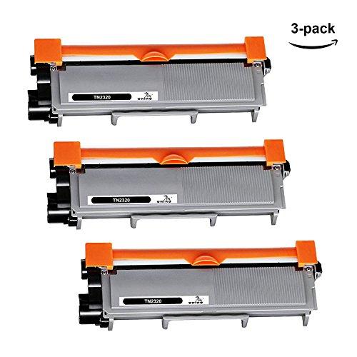 TN2320 Tóner ONINO Compatible para HL-L2300D HL-L2320D HL-L2340DW HL-L2360DN HL-L2360DW HL-L2365DW HL-L2380DW HL-L2430DW DCP-L2500DW DCP-L2520DW DCP-L2540DN DCP-L2560DW MFC-L2700DW (3 pcs)