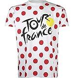 Tour de France – Camiseta – Grimpeur de ciclismo – Colección oficial – Talla de adulto para hombre L