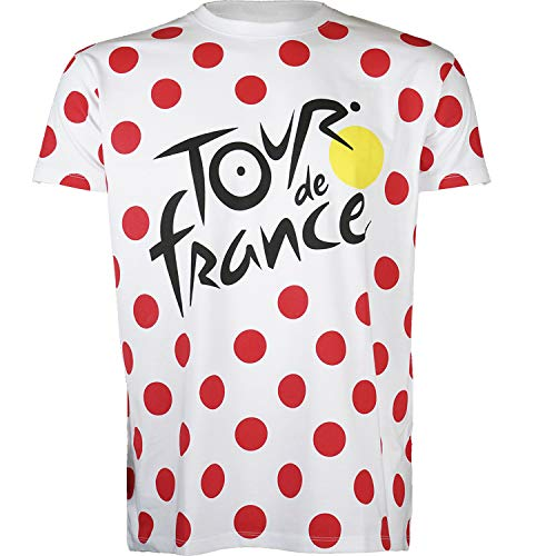Tour de France T-Shirt - Grimpeur de Cyclisme - Collection Officielle - Taille Enfant 10/12 Ans