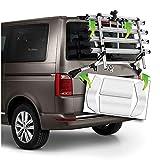 AlphaShield Pellicola protettiva per portabici posteriore per portabiciclette, taglio CAD, pellicola protettiva autoadesiva (FX07 adatta per VW T6)