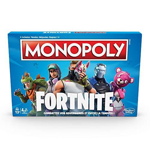 Monopoly Jeu De Societe Monopoly Fortnite Jeu De Plateau Version Francaise