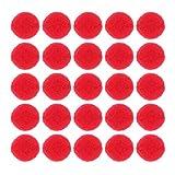 Exceart 500 Stück 30Mm Runde Pom Pom Polyester Plüsch
