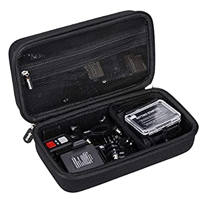 Aproca Hard Carry Travel Case Compatible with AKASO EK7000 4K Sports Action Camera from Aproca
