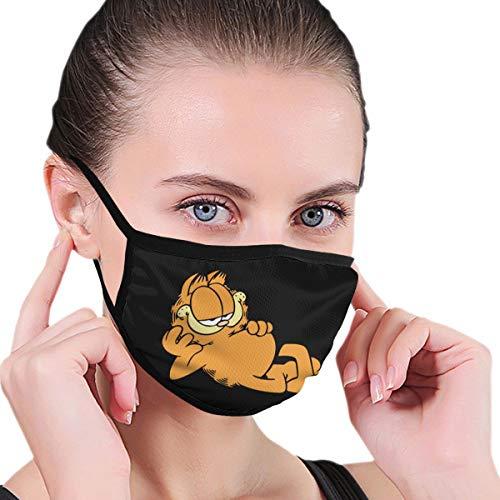 Lncsdk Aeuv Garfield – Pañuelo de cuello sin costuras, resistente al polvo, bandana para la cara, reutilizable
