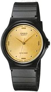Casio Men's Gold Dial Resin Band Watch - MQ-76-9A