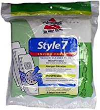 Bissell Style 7 Power Glide Vacuum Cleaner Upright Enviro Fresh 3 Bags Per Pack # 30861 , 32120