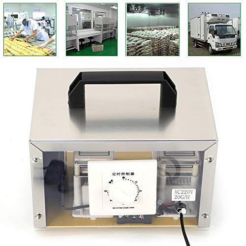 WUPYI2018 Generador de ozono, 20000mg/h, depurador de aire esterilizado, purificador de ozono, desinfección máquina