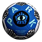 Park Soccer Balls - Each Soccer Ball Purchase Benefits Kids in Need Making a Global Impact - Adult and Youth Soccer Ball (Blue, 4)