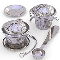 loose leaf tea strainer set