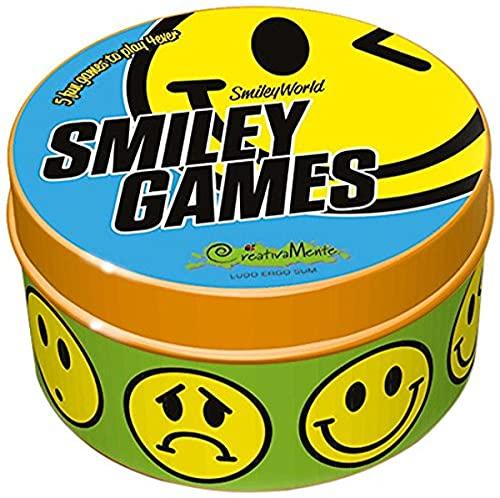 CreativaMente Smiley Games-Gioco in Scatola, 501