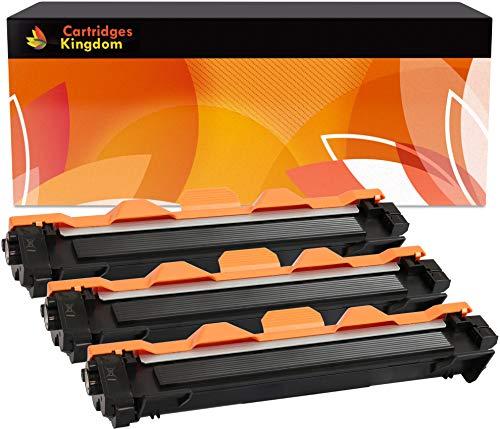 3 Cartuchos de Tóner XL láser compatibles para Brother (TN1050) HL-1110 HL-1112 DCP-1510 DCP-1512 DCP-1610W DCP-1612W HL-1210W HL-1212W MFC-1810 MFC-1910W | de Alta Capacidad 2.000 páginas