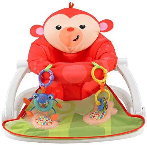 Fisher-Price Deluxe Sit-Me-Up Floor Seat by Fisher-Price (English Manual)