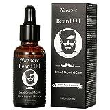 Huile Barbe, Beard Oil, Huile de Ricin Barbe, Barbe Entretien et Soin pour Homme,Cadeaux pour Homme, Produit 100% Naturel,...