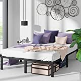 ZINUS Yelena Metal Platform Bed Frame / Steel Slat Support / No Box Spring Needed / Easy Assembly, Queen