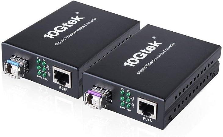 H Fiber Com Media Converter With Sfp Computers Accessories