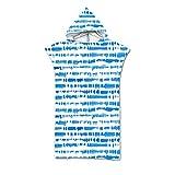 CNNINHAO Poncho Toalla con Capucha Adulto Unisex, Microfibra Albornoces Verano para Cambiarse de Ropa Hacer Surf Natación Playa Toalla de Baño (75x110cm,8)