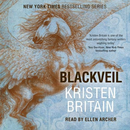 Blackveil Audiobook By Kristen Britain cover art
