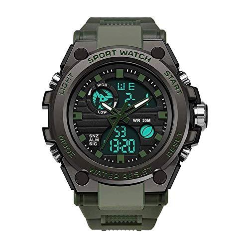 Reloj deportivo deportivo deportivo deportivo especial para deportes al aire libre con campo luminoso y resistente al agua para deportes de entrenamiento CSS, etc.