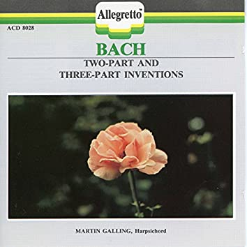 Bach: 2-Part & 3-Part Inventions