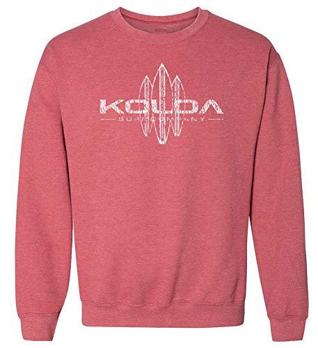 Koloa Vintage Surfboard Crewneck Sweatshirt in Size-XL