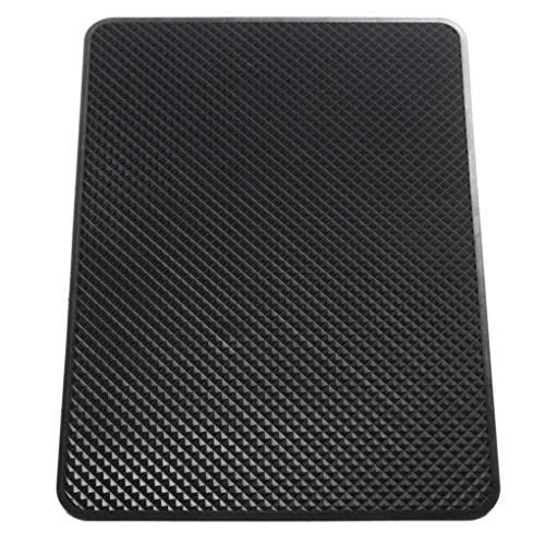 Jinghengrong Rectangular salpicadero Tableta del teléfono móvil Antideslizante Mat Resistente al Calor Adornos Lugar de PVC Pad