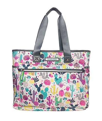 Lily Bloom Cactus Critter Travel Tote Bag