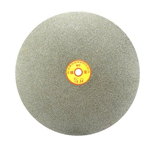 sourcingmap Scheibe Rad Schleifen 250mm 10-Zoll Korn 60 Diamant beschichtete flache Runde