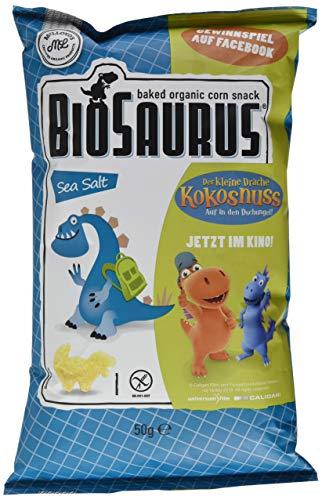 Organique BioSaurus Meersalz Junior, der knusprige Maissnack (1 x 50 g)