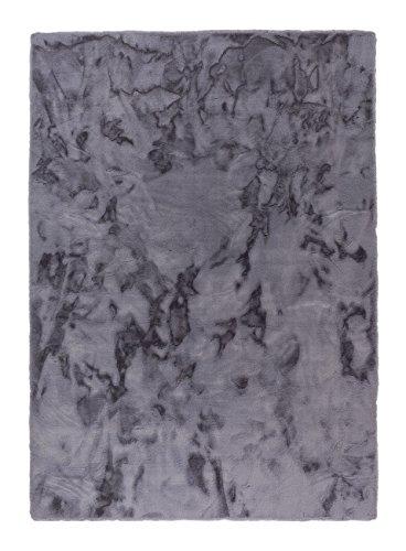 Schöner Wohnen Tender Kunstfell-Teppich 150x80 Anthrazit