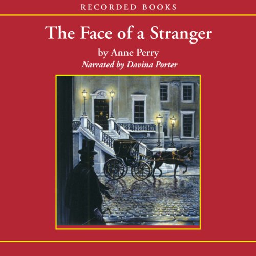 The Face of a Stranger audiobook cover art