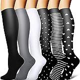 Sooverki Calcetines de compresión para Mujeres y Hombres 20-25 mmHg es el...