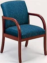 Lesro Weston W1301G5 Guest Office Chair Fabric Perk Flint Finish Medium