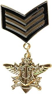 FENICAL Medalla Militar Broches Pins for Men Pins y distintivos Militares Trajes de Accesorios