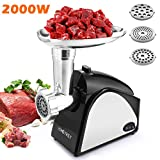Best Electric Meat Grinders - Electric Meat Grinder 2000W, Food Meat Grinders Review