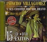 Poncho Villa Gomez Y Sus Coyotes Del Rio Bravo Cd +Dvd