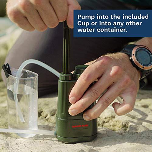 Survivor Filter PRO Portable Water Filter