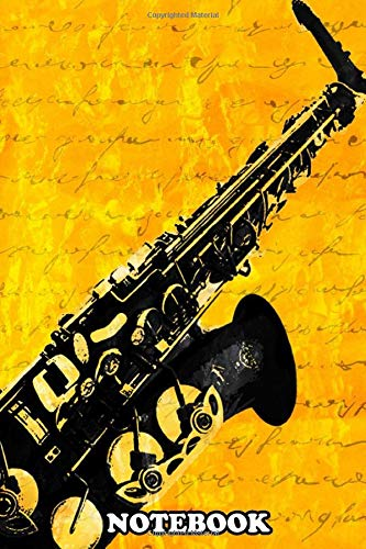 Notebook: Yamaha Custom Alto Sax , Journal for Writing, College Ruled Size 6' x 9', 110 Pages