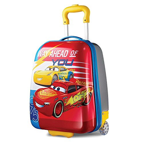 American Tourister Kids' Disney Hardside Upright Luggage, Cars Ahead, Carry-On 16-Inch