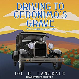 Driving to Geronimo's Grave and Other Stories audiobook cover art