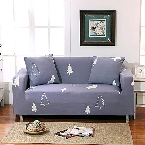 Polyester Simple Stripe Geometric Sofa Cover All-Inclusive And Elastic Non-Slip Universal Seat Cover For All Seasons, Suitable For Living Room, Office Sofa, Shopping Mall Sofa