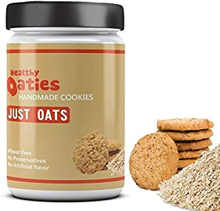 Healthy Oaties Fresh Soft Baked Just Oats Cookies - High in Protein, Non GMO, No Wheat Flour, No Refined Sugars - Just Oat...