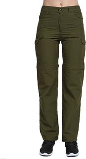 PHIBEE Pantalones Convertibles de Mujer Pantalones de